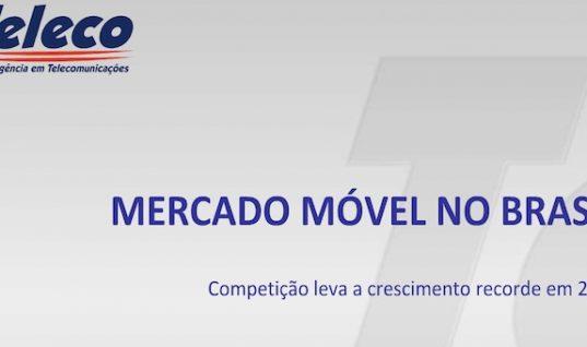 Mercado móvel no Brasil: crescimento de novas linhas desacelera nos primeiros seis meses do ano